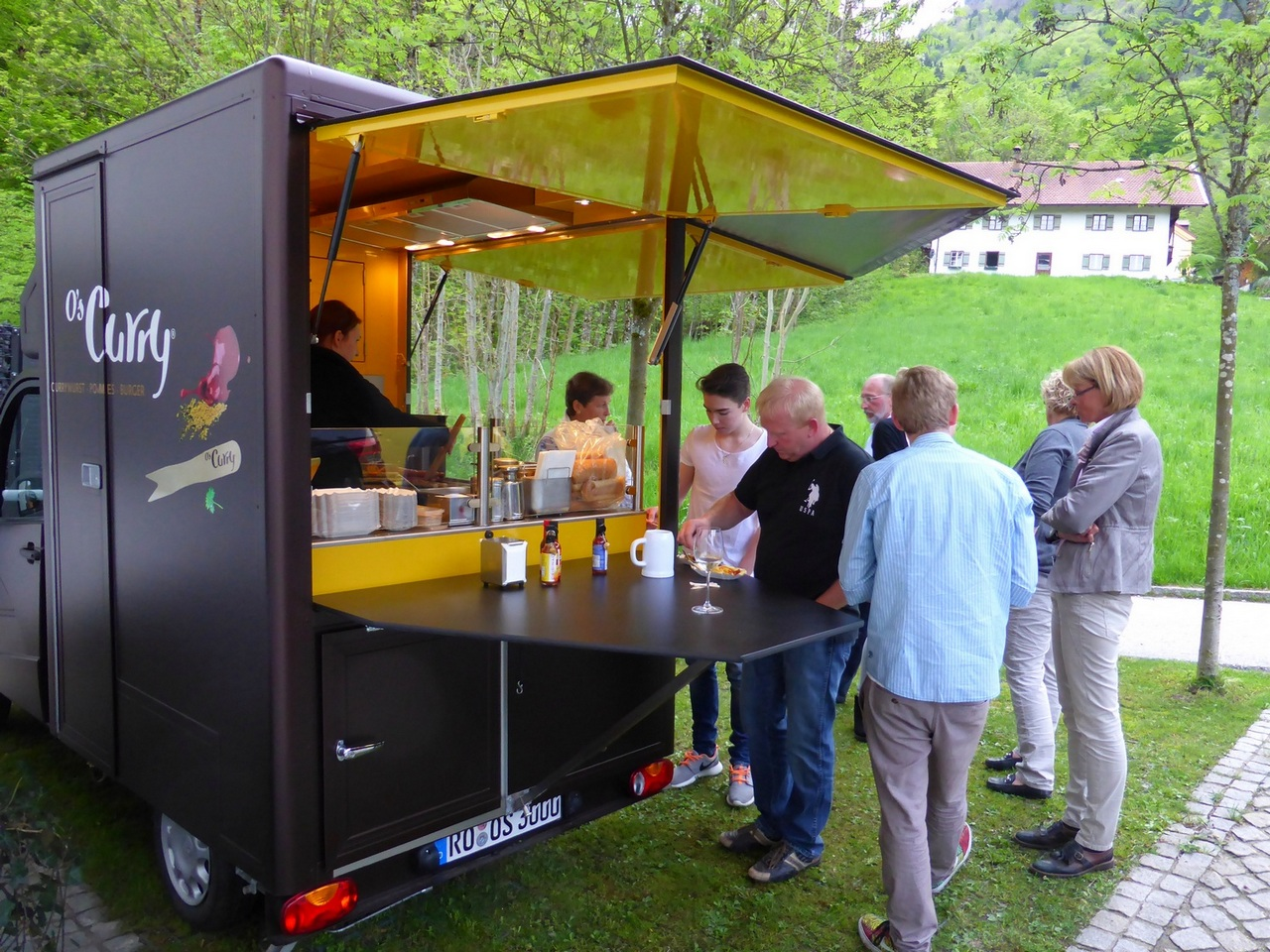 food truck catering und events by o 39 s deutschlandweit. Black Bedroom Furniture Sets. Home Design Ideas