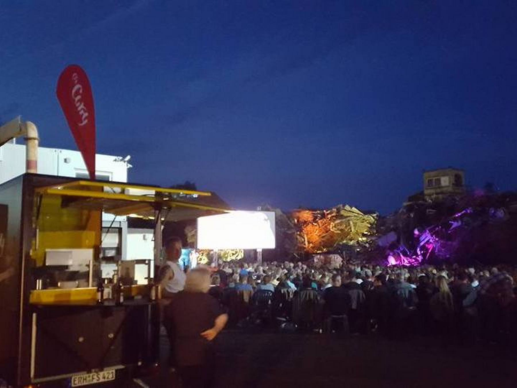 O's Curry beim Open-Air Kino / Film Festival in Nuernberg