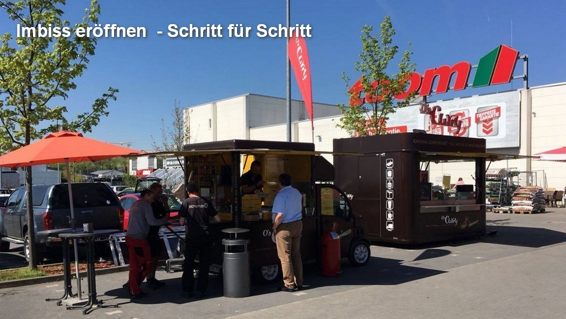 Imbiss eröffen, Snack-Point opening