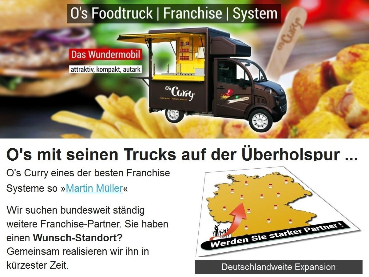 Os Foodtruck Freddy-Mobil auf der Überholspur