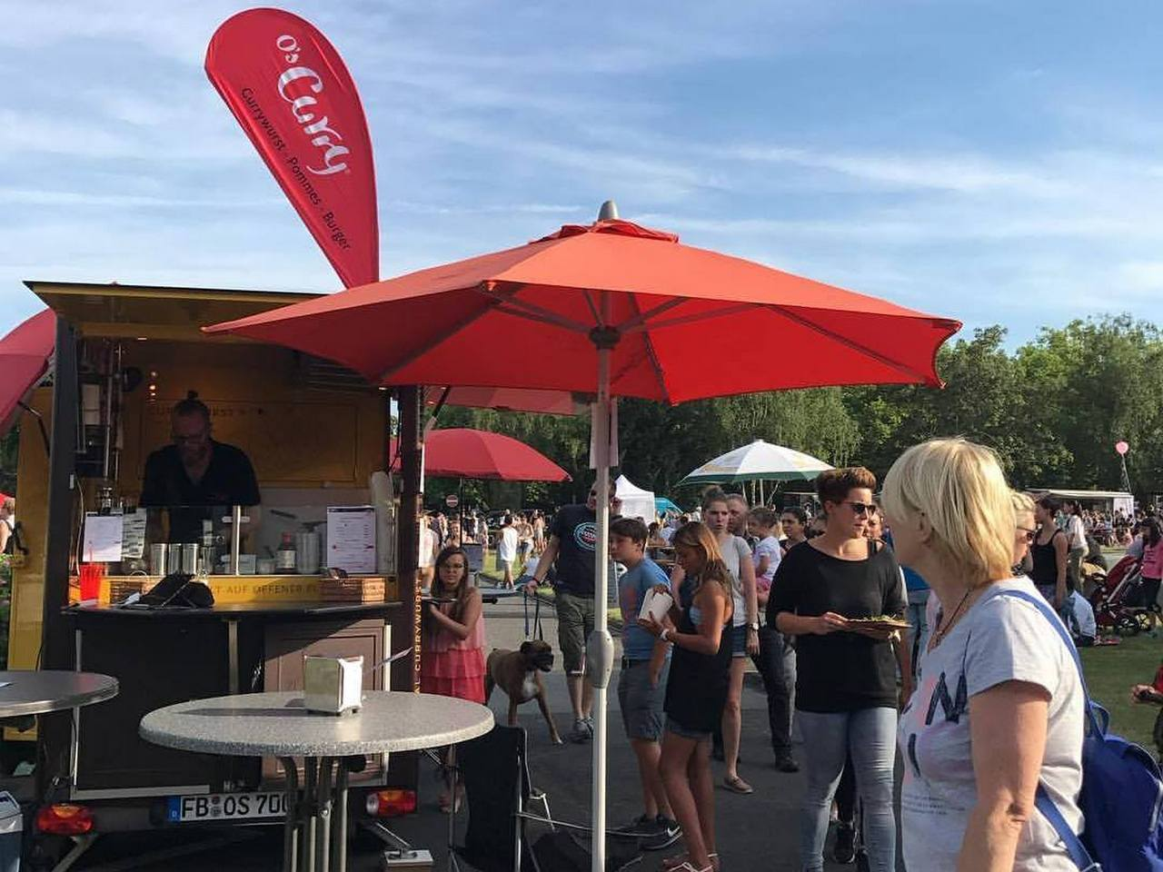 Sommerfestival mit Foodtruck-Round-UP