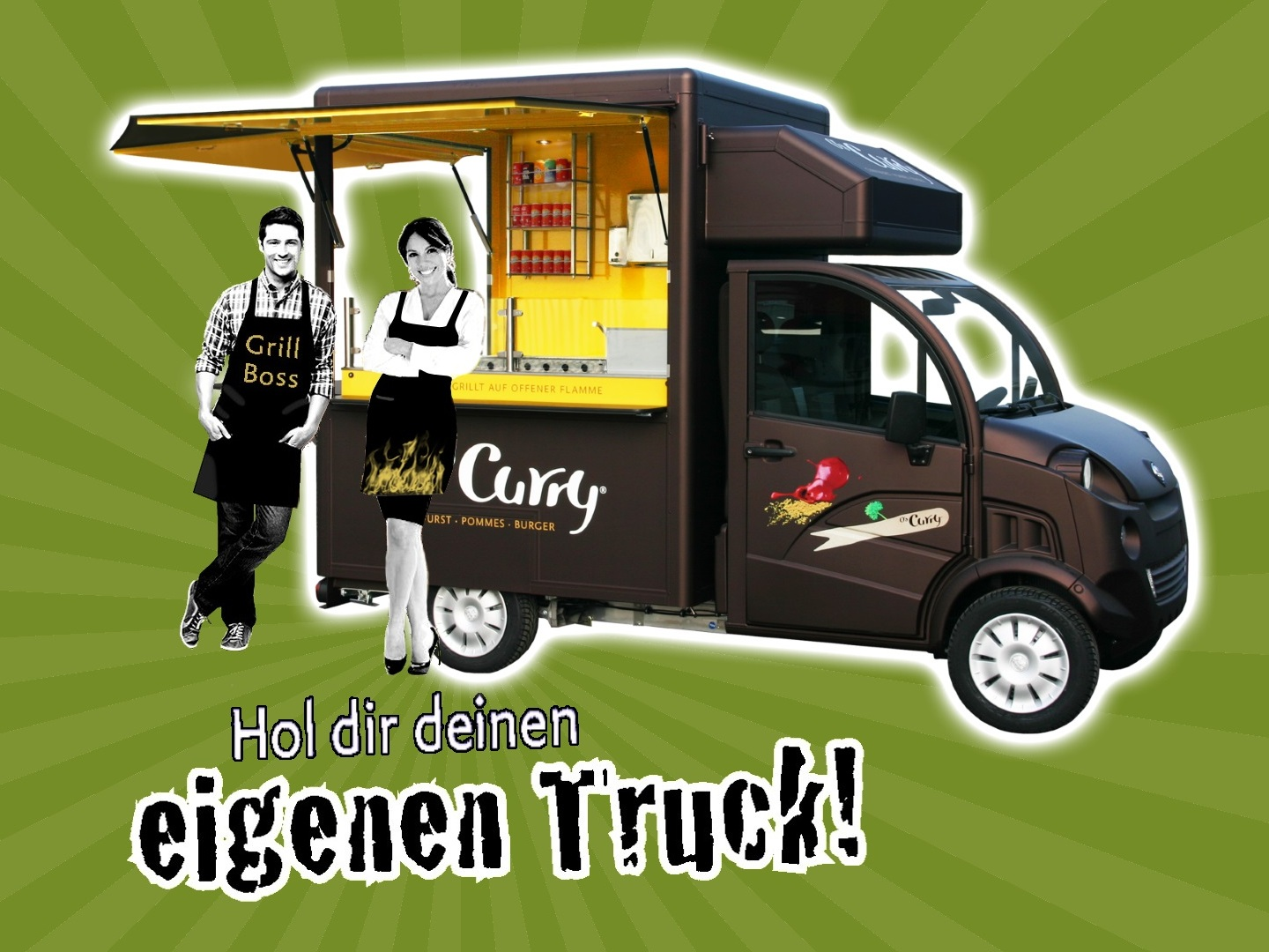 O\'s Ultra mobiles Food-Truck Franchise System inklusive Leading und Finanzierung