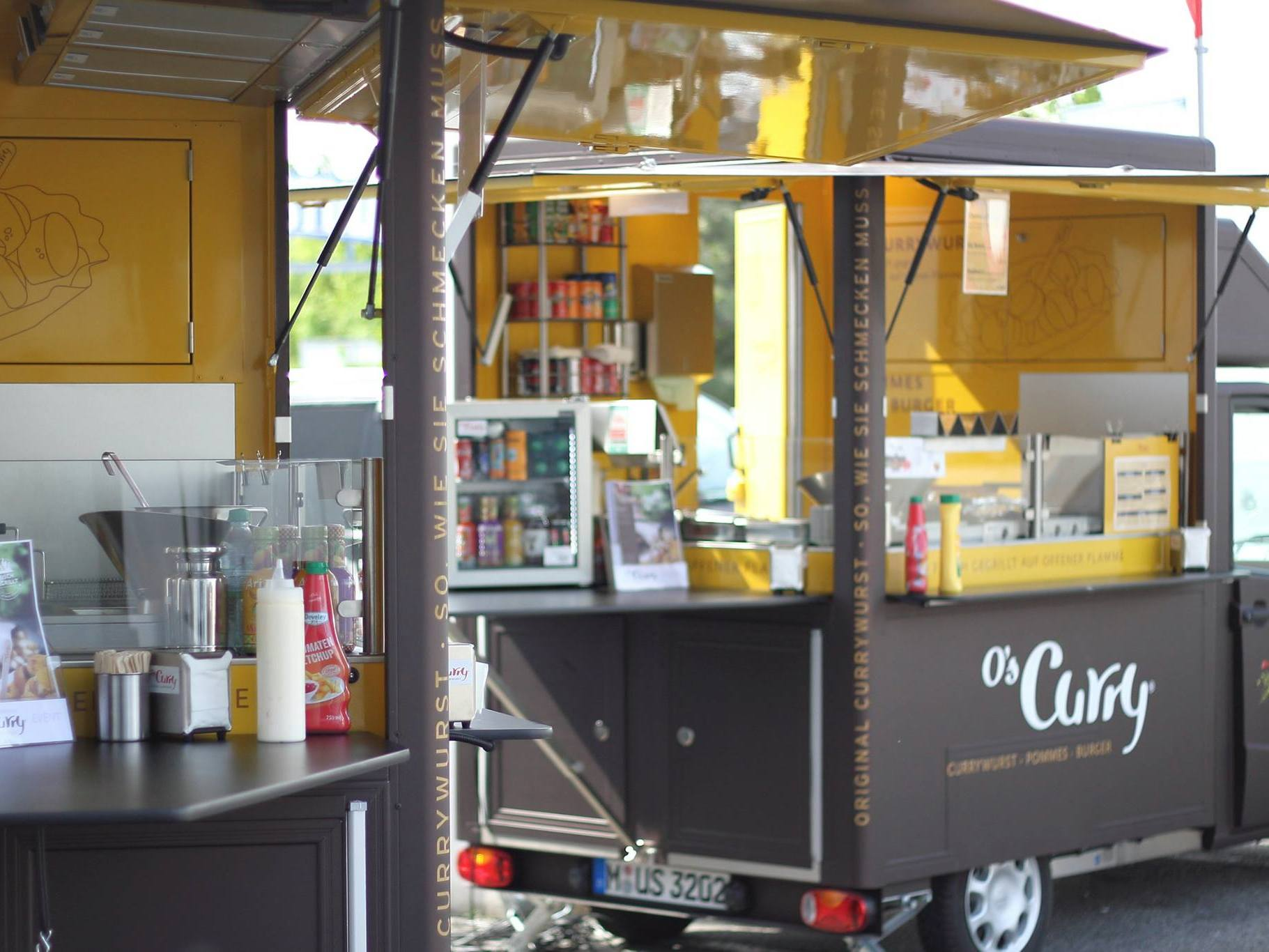 »Multi-Foodtruck« Catering & Events. O's macht alles möglich.