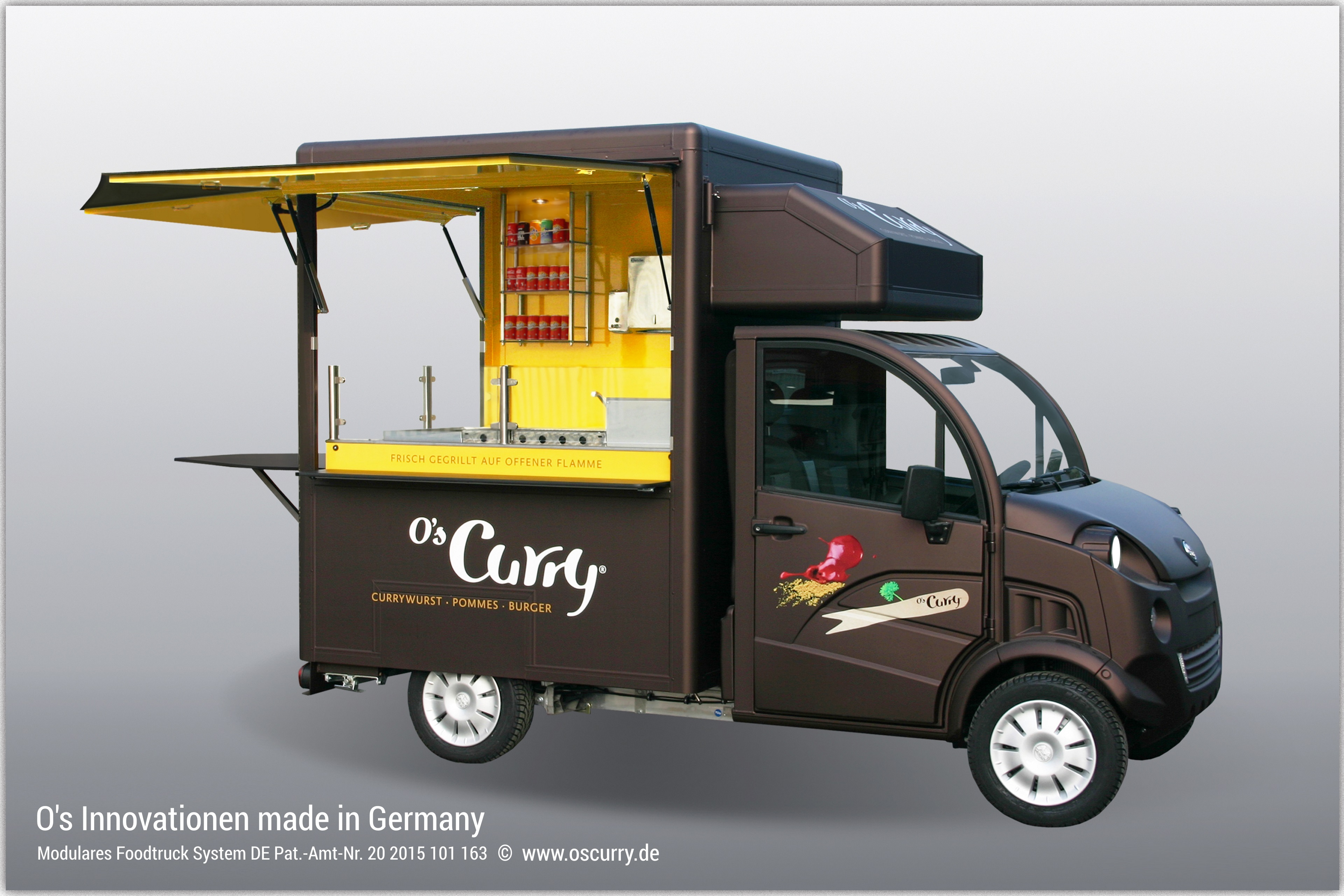 Gas Grill For Food Truck