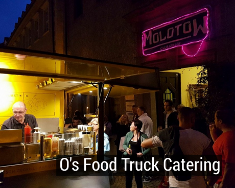 Food Truck Catering - O's Freddy völlig autark
