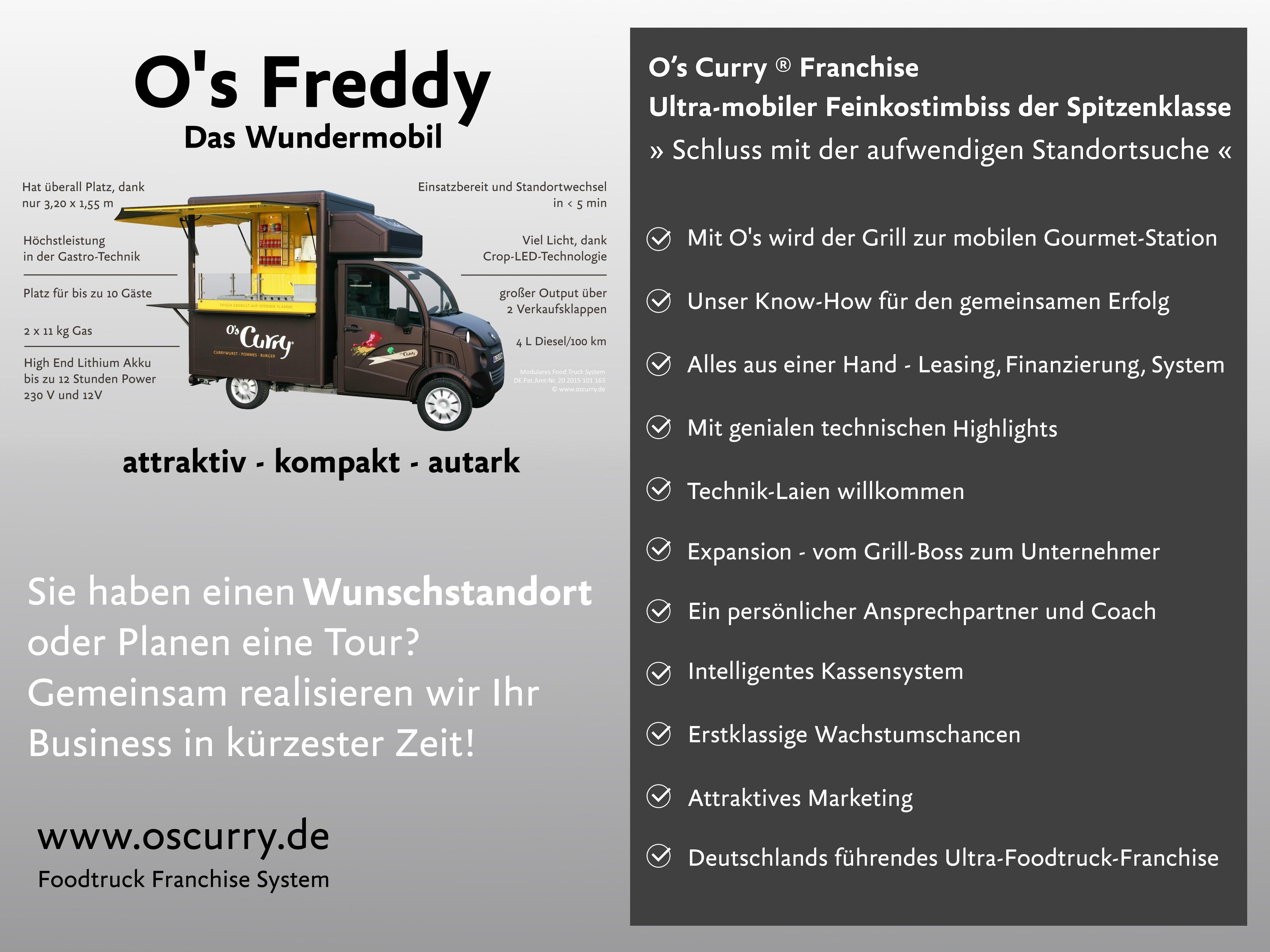 Imbisswagen fahrbar. Mobiler FoodTruck