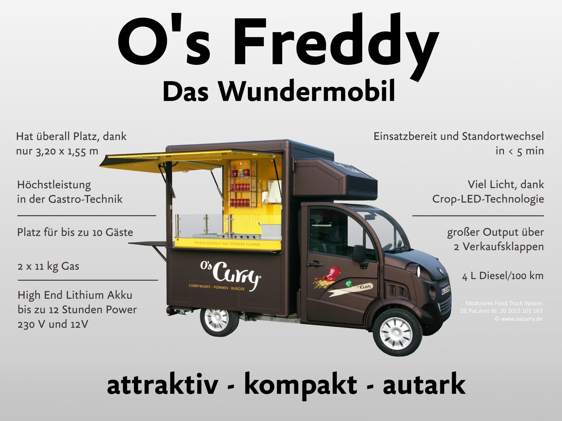 Freddymobil Technische Daten