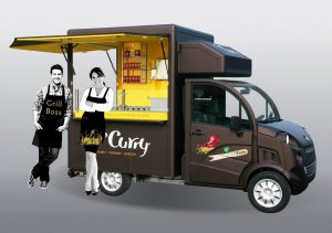 Freddymobil in Oldenburg unterweggs zum Catering
