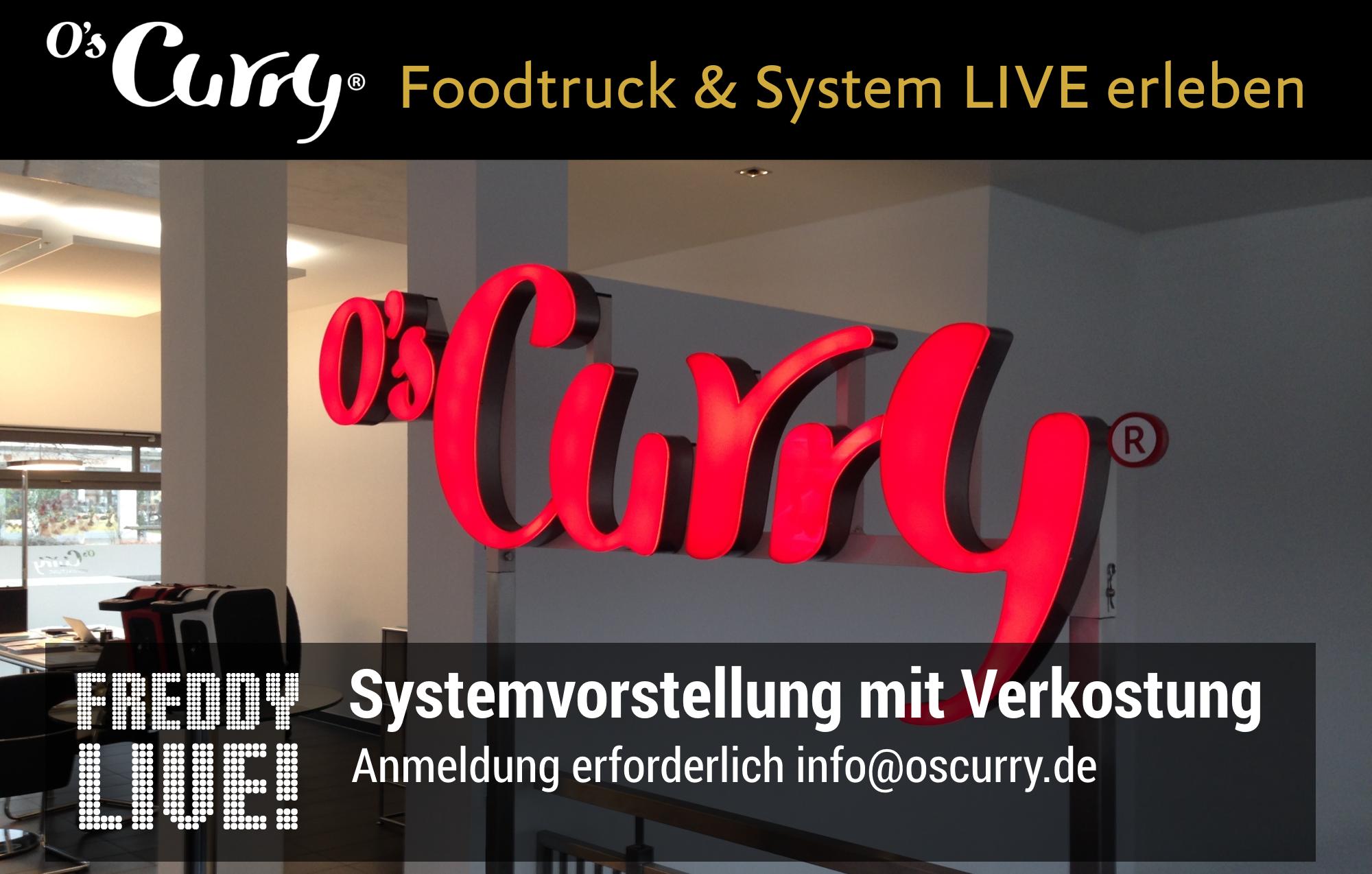 Freddy_Live Info-Veranstaltung und Vorstellung mit Praesentation und Vorfuehrung sowie Kennenlernen des System und Austausch von Erfahrungen mit O's Curry
