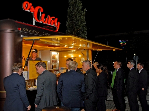 O's Business Catering mit Food Truck bei www.boerse.de