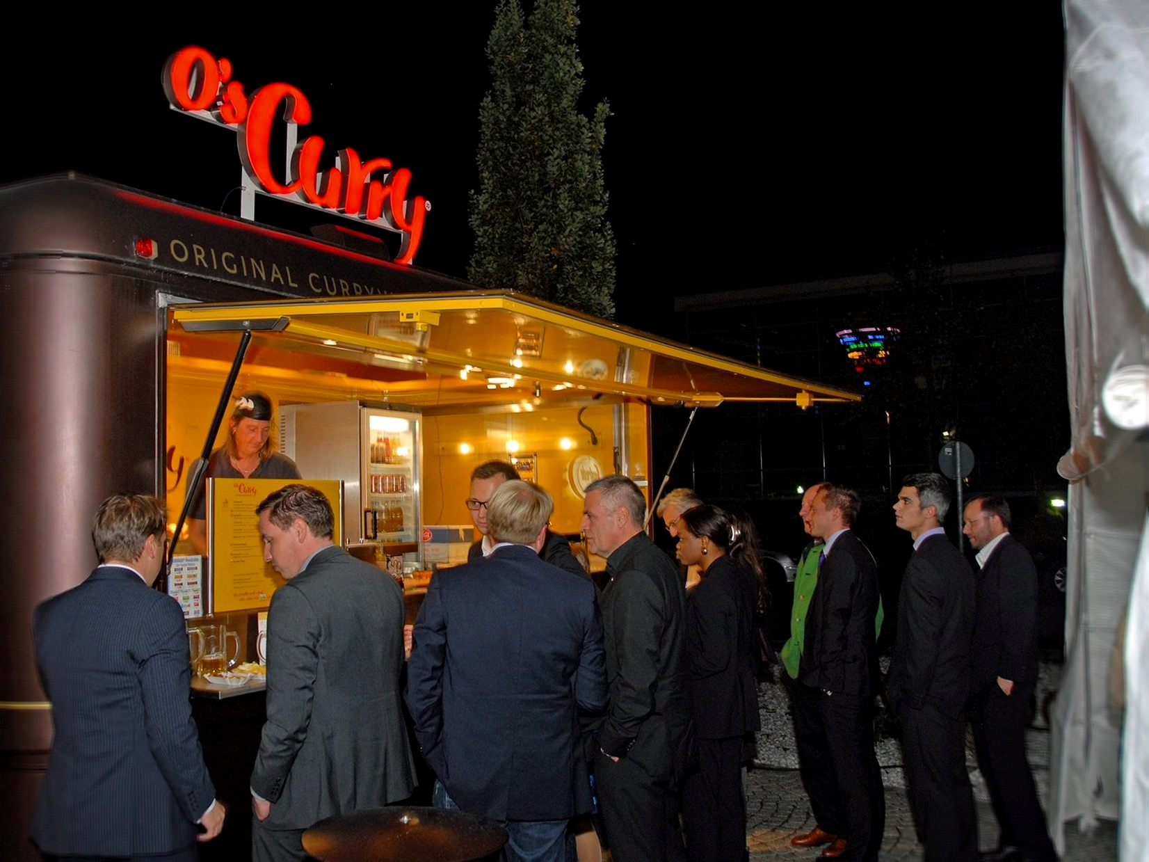 Food-Truck-Begleitung beim Ausfulg deiner Firma