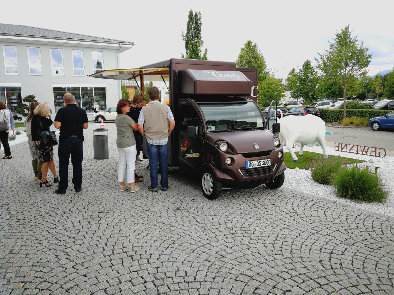 Finale Food-Truck-Überraschung im Betrieb